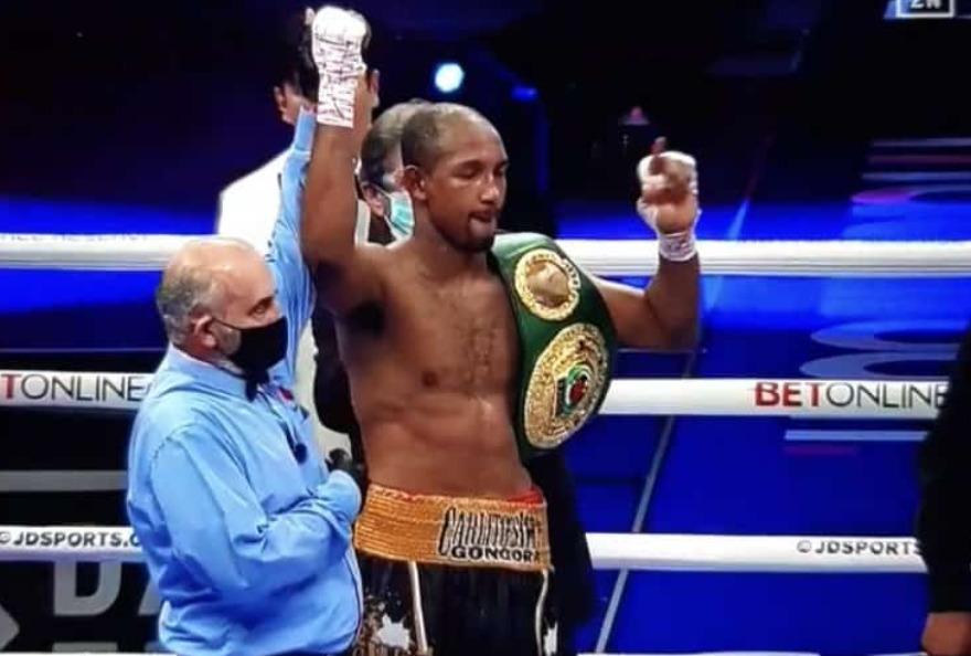 ¡Carlos Góngora se adjudicó el título mundial de boxeo profesional!