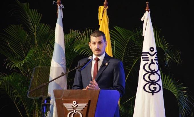 Miguel Ángel González, presidente de la Cámara de Comercio de Guayaquil . Foto: Cortesía