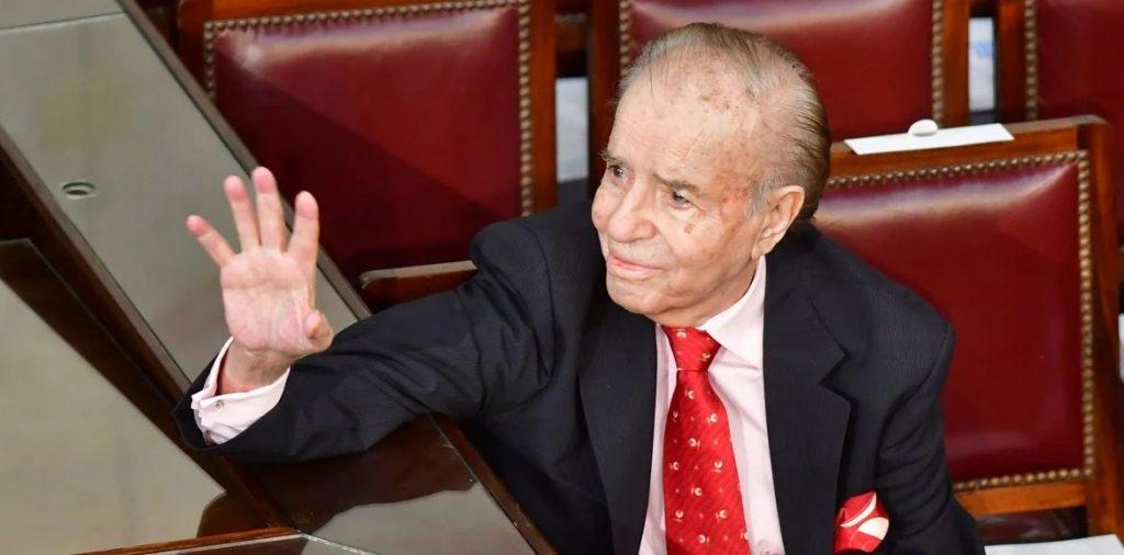 Carlos Menem (1930-2021).
